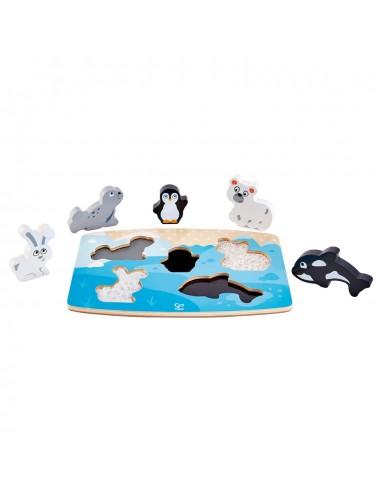 Puzzle Infantil Encajable con Texturas