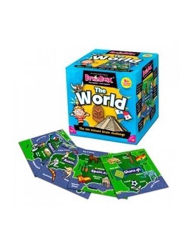 BrainBox El Mundo: Juego de Memoria