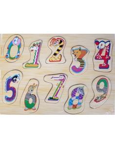 La orugalos números