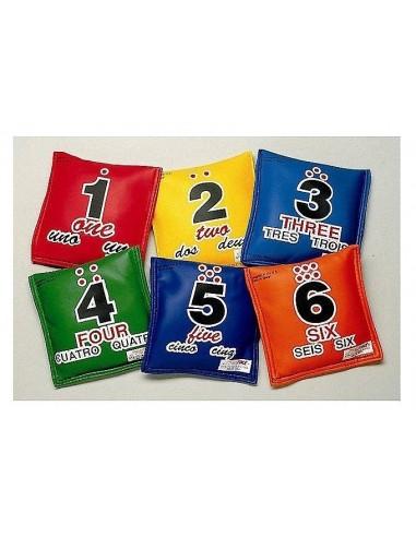 Almohadillas con Números