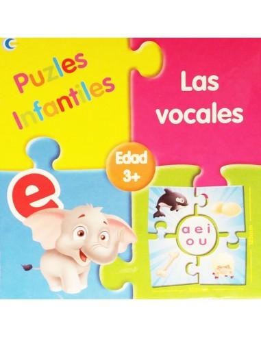 Puzzle para aprender Las Vocales
