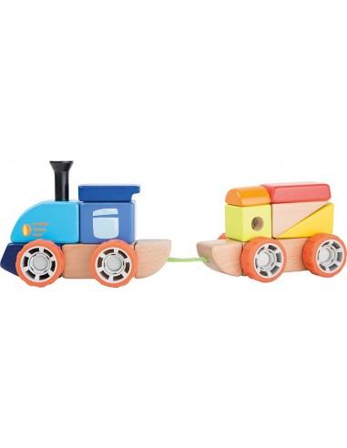 Tren de Bloques de Madera