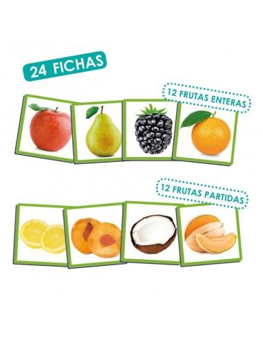 Juego Sensorial : Las frutas y sus...