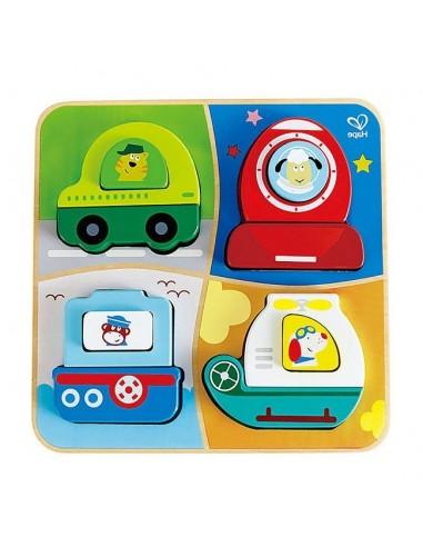 Puzzle Infantil - Transportes -